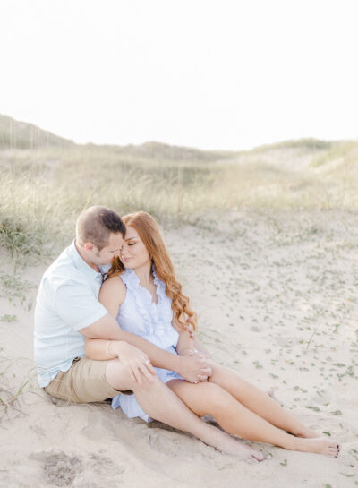 Savannah & Brandon's Outer Banks Engagement Session // Outer Banks Wedding Photographer