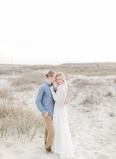 Ian & Audrey's Outer Banks Honeymoon Session // Outer Banks Wedding & Engagement Photographer