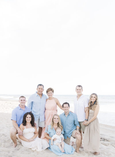 The Mack Family ⎸Outer Banks Family & Proposal Photographer