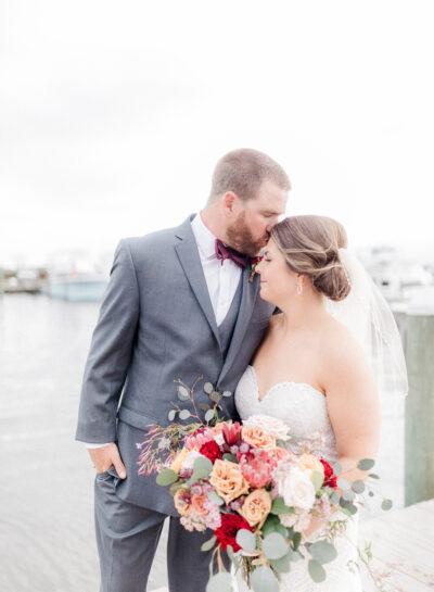 Mary-Vaughan & Carson's Pavilion at Pirates Cove Wedding // OBX Destination Wedding Photographer