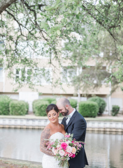 Jessica & BJ's Pavilion at Pirates Cove Wedding // Outer Banks Wedding Photographer