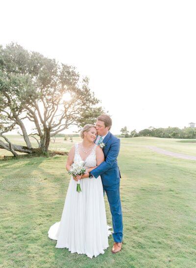 Megan & Jason's Nags Head Golf Links Wedding // Outer Banks Wedding Photographer