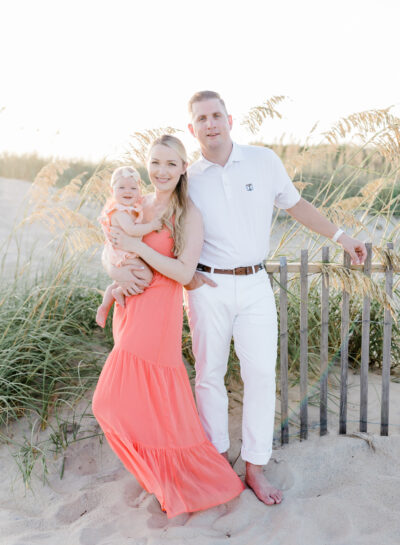 deVito Family's Nags Head Beach Portraits