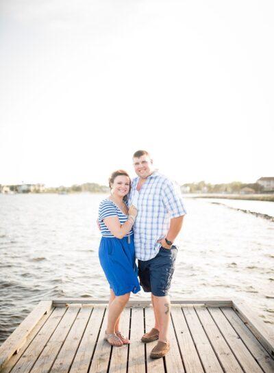 Alison & Shane's Roanoke Island Couples Session // Outer Banks Wedding Photographer