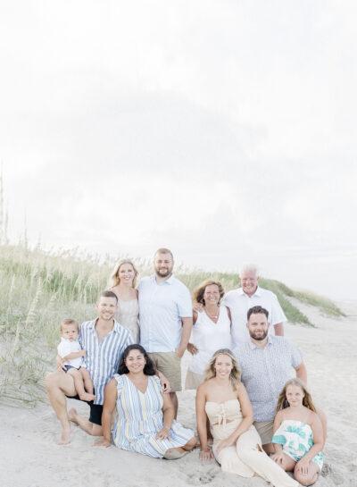 WildSmith Family's Hatteras Island Beach Portraits // OBX Family Photographer